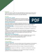 ipc présentation et création de la lettre de change
