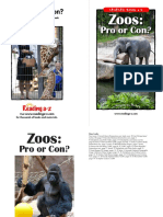pros and cons zoos