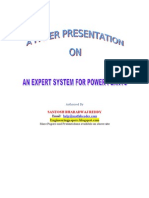 An Expert System for Power Plants