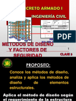 3 CLASE 2.1 METODOS DE DISEÑO, FORMAS DE FALLA Y FACTORES DE SEGURIDAD (1)