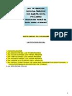Previsión Social (Sexta Unidad Del Programa)