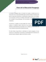 Fines de la Educación paraguaya