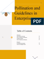 Pollination and Guidelines in Enterprise
