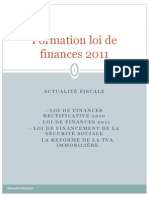 Finance Bill 2011 France