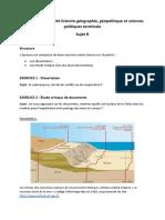 Bac - Épreuve de spécialité HGGSP - sujet et corrigé n°2