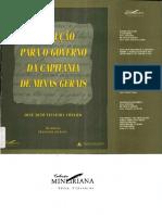 Instrução para o governo da capitania de Minas Gerais.pdf