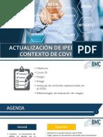 Actualización de IPERC en el contexto de Covid-19