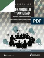 Desarrollo y sociedad  problemas y debates contemporáneos