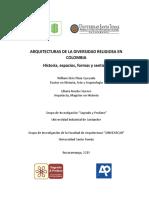 LIBRO ARQUITECTURAS DE LA DIVERSIDAD RELIGIOSA