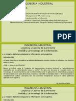 LOGÍSTICA Y CADENA DE SUMINISTRO TEMAS DE CLASES U5
