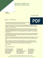 Dehenna IPSA letter