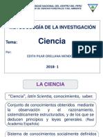 Ciencia 2018-1