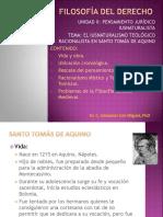 TEMA 4.2 Iusnaturalismo teológico racionalista de Santo Tomás de AquinoArchivo