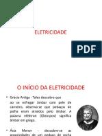 1- A Eletricidade