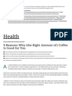 9 Reasons Why (the Right Amount of) Coffee is Good for You _ Johns Hopkins Medicine