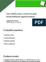 4 PRODUCTO ESCALAR Y VECTORIALVECTORES EN EL ESPACIO.pptx