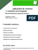 1 APLICACIÓN DE VECTORES Y VECTORES EN EL ESPACIO.pptx