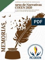 MEMORIAS - 1er Concurso de Narrativas ACOEEN 2020