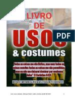 Livro Uso e Costume