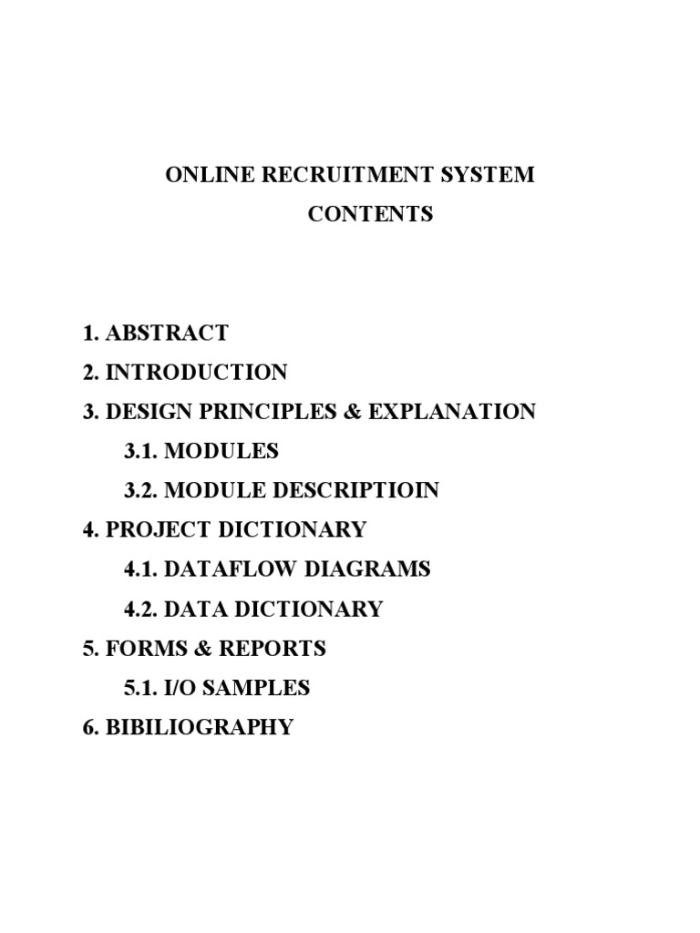 Project on online recruitment system recruitment test assessment ccuart Gallery