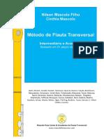 Mascolo, Método de Flauta Transversal Int & Av - Baseado em 81 peças clássicas