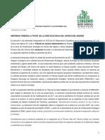 SENTENCIA TRIBUNAL A FAVOR DE LA ZONA ECOLÓGICA DEL CHARCO DEL INGENIO