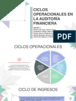 Ciclos Operacionales. Grupo 1