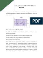Conceptos generales y principios del Control Estadístico de Procesos
