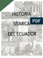 Historia Sismica Del Ecuador (1)