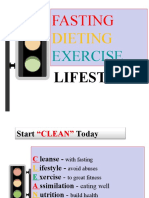 Fasting.dieting.exercise