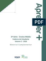 Livro 3ª Série_Vol 2_ESTUDANTE