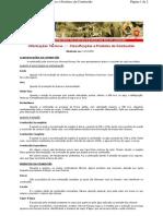 Classificação e produtos da combustão