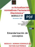 Actualización Normativas Facturación Electrónica MODULO 01