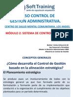 Modulo 2 Sistema de Control de Gestion Control de procesos Administrativos Centro Salud Mental Los Andes