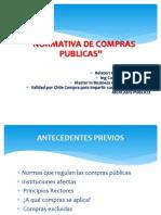 Modulo 1 Primera Parte Normativas Compras Publicas sector Publico