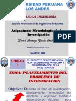 DIAP MET INVEST(6º Semana)_Planteamiento_Importancia FI-UPLA