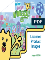 Wow! Wow! Wubbzy! Licensee images
