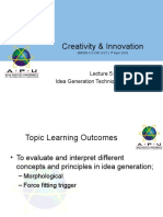 CRI LECTURE OBE 5 IDEA GENERATION part 2 of 3.ppt