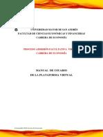 Manual Plataforma Usuario PAFV