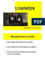 Curso de Street Marketing por Iñaki  Makazaga
