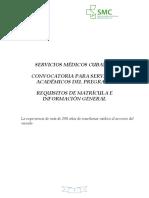 Convocatoria Pregrado Curso 2020-2021