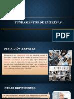 FUNDAMENTOS DE EMPRESAS