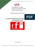 L'enseignement Apprentissage du FLE par le biais du Site Pédagogique de RFI.pdf