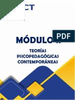MÓDULO II CORRIENTES PSICOPEDAGÓGICA con cambios