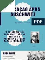 Educação após Auschwitz