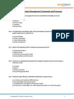 PMP Master Quiz - 2018_Questions