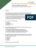 PMP_Classroom_Testpaper_Participant