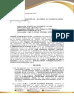 CONCILIACIÓN CONTRATO DE COMPRAVENTA