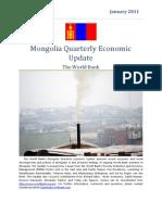 Mongolia Quarterly Economic Update
