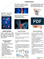 Folleto Lesiones Osteomusculares
